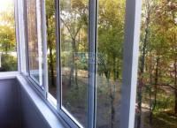 Балкончик из алюминия