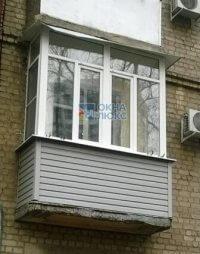 Пластиковые окна на сталинском балконе