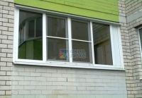 Пластиковые окна для лоджии